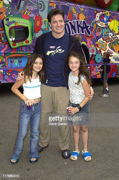 Brendan Fraser at the Target A Time for Heroes Celebrity Carnival Benefitting the Elizabeth Glaser Pediatric AIDS Foundation