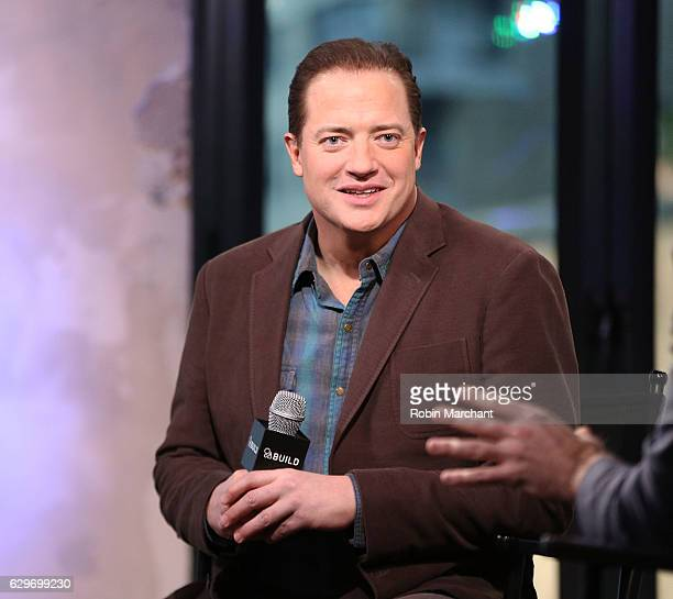 Brendan Fraser attends Build Presents The Affair at AOL HQ on December 14 2016 in New York City