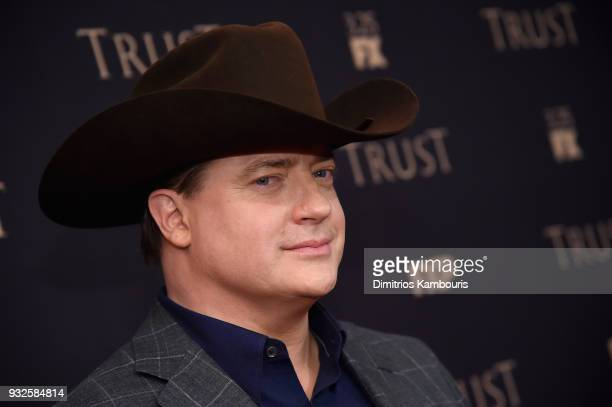 Brendan Fraser attends the 2018 FX Annual AllStar Party at SVA Theater on March 15 2018 in New York City