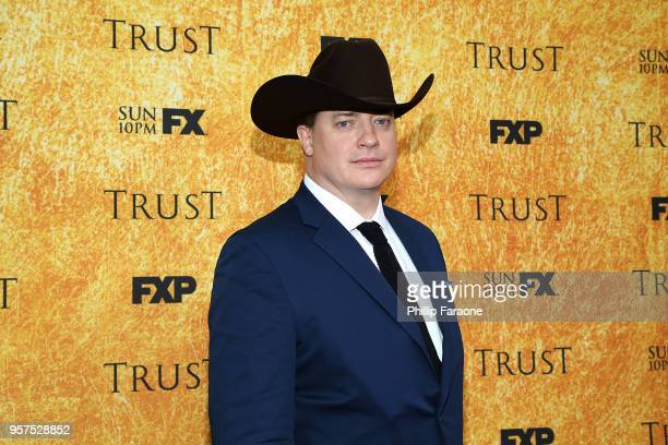 Brendan Fraser attends the For Your Consideration Event for FX's Trust at Saban Media Center on May 11 2018 in North Hollywood California