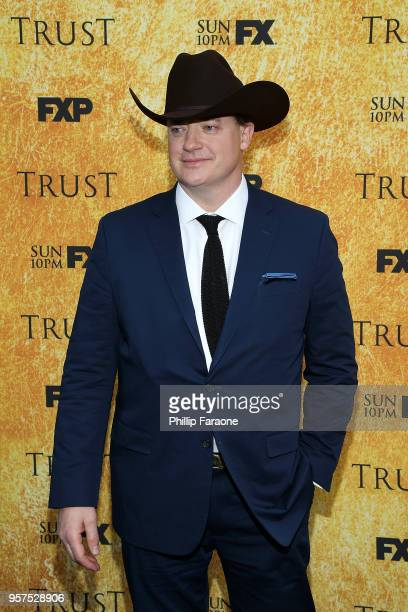 Brendan Fraser attends the For Your Consideration Event for FX's 'Trust' at Saban Media Center on May 11 2018 in North Hollywood California