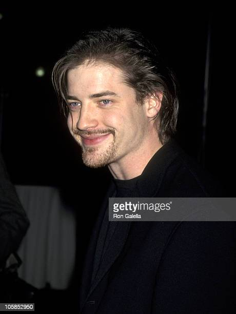 Brendan Fraser during Eye For An Eye Los Angeles Premiere Benefiting Natural Neurofibromatosis at Paramount Studios in Hollywood CA United States