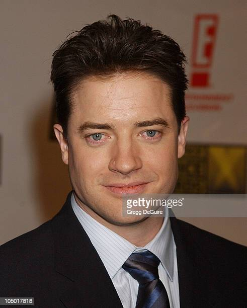 Brendan Fraser during The 8th Annual Critics' Choice Awards Beverly Hills at Beverly Hills Hotel in Beverly Hills California United States