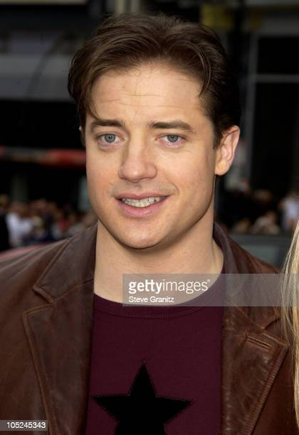 Brendan Fraser during The World Premiere of 'Looney Tunes Back in Action' at Grauman's Chinese Theater in Hollywood California United States