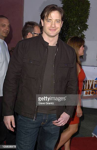 Brendan Fraser during Van Helsing Los Angeles Premiere Arrivals at Universal Amphitheatre in Universal City California United States