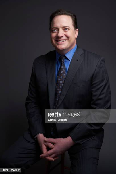 Brendan Fraser of DC Universe's Doom Patrol poses for a portrait during the 2019 Winter TCA at The Langham Huntington Pasadena on February 9 2019 in...