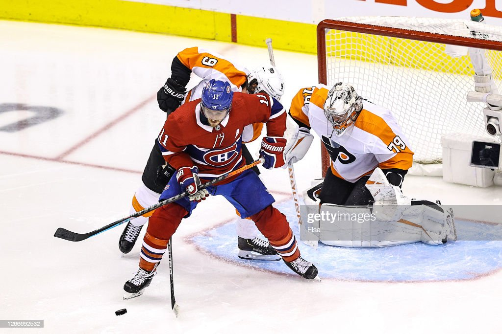 Philadelphia Flyers v Montreal Canadiens - Game Three : News Photo