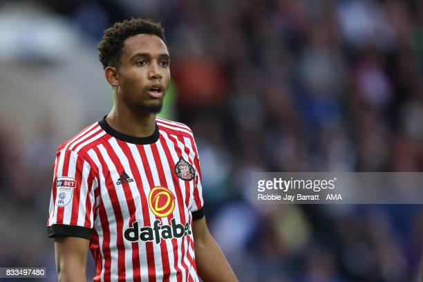 Brendan Galloway of Sunderland during the Sky Bet Championship match between Sheffield Wednesday and Sunderland at Hillsborough on August 16, 2017 in...