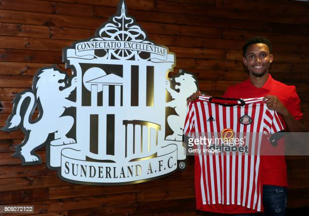 Brendan Galloway poses for the first time at the Academy of Light on July 5, 2017 in Sunderland, England.