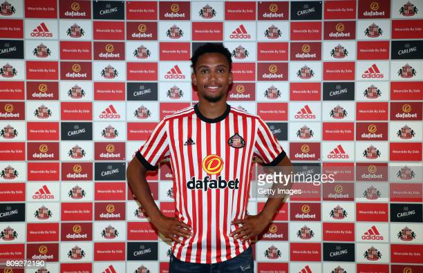 Brendan Galloway poses for the first time at the Academy of Light on July 5 2017 in Sunderland England