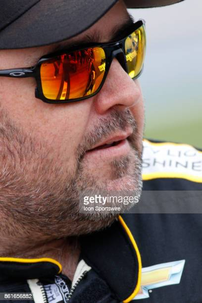 Brendan Gaughan Beard Motorsports Beard Oil Distributing Chevrolet SS during qualifications for the Alabama 500 Monster Energy NASCAR Cup Series race...