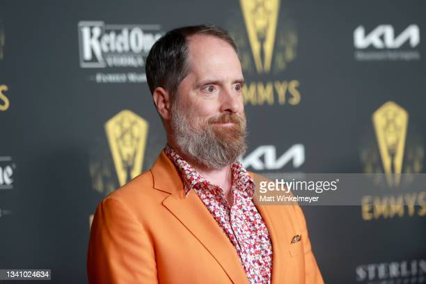 Brendan Hunt attends the Television Academy's Reception to Honor 73rd Emmy Award Nominees at Television Academy on September 17, 2021 in Los Angeles,...