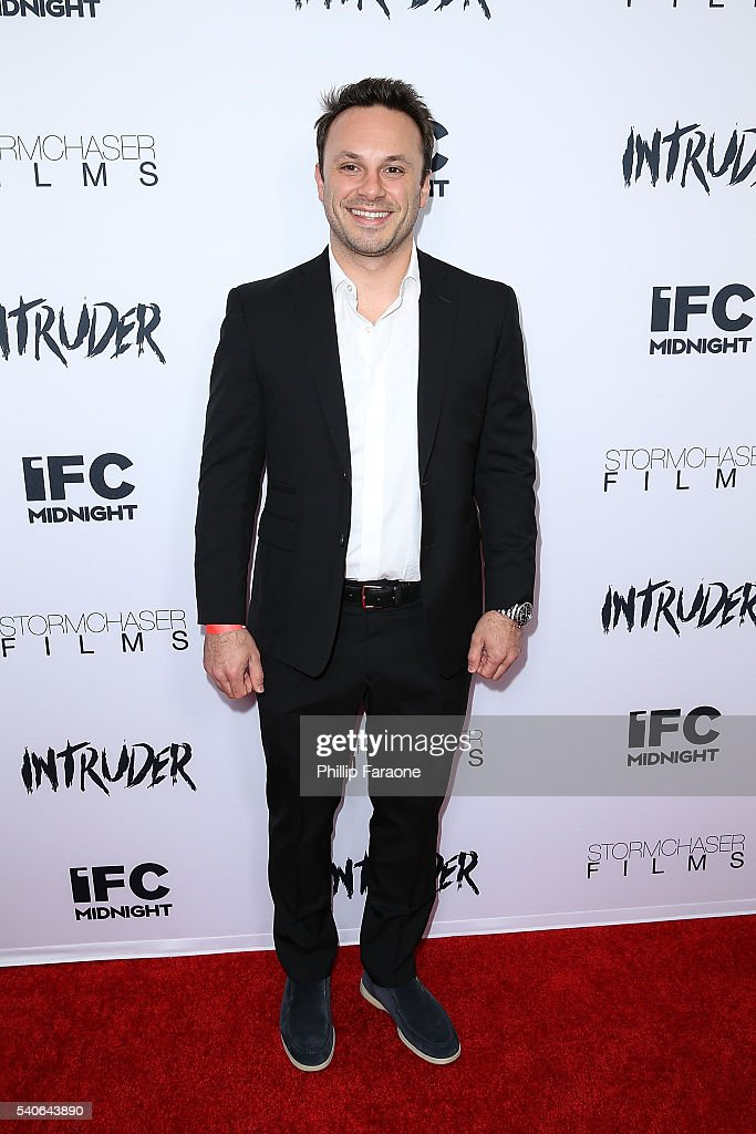 Brendan Iribe attends the premiere of IFC Midnight's 'Intruder' at Regency Bruin Theater on June 15, 2016 in Westwood, California.