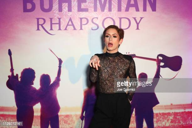 Brendan Jordan attends Bohemian Rhapsody's Get Loud Extravaganza at Whiskey a Go Go on February 12 2019 in Los Angeles California