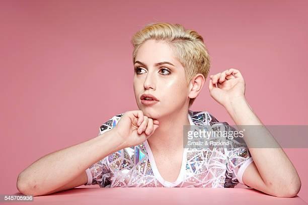 Brendan Jordan takes a portrait at Beautycon Festival Los Angeles on July 9 2016 in Los Angeles California