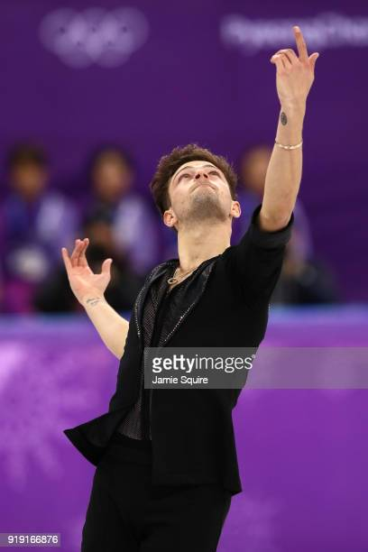 Brendan Kerry of Australia competes during the Men's Single Free Program on day eight of the PyeongChang 2018 Winter Olympic Games at Gangneung Ice...