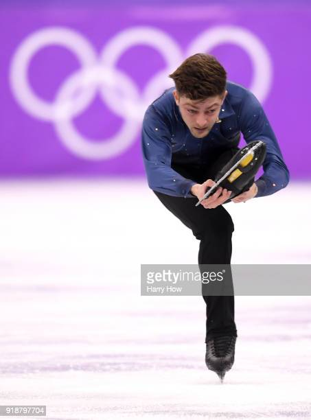 Brendan Kerry of Australia competes during the Men's Single Skating Short Program at Gangneung Ice Arena on February 16 2018 in Gangneung South Korea