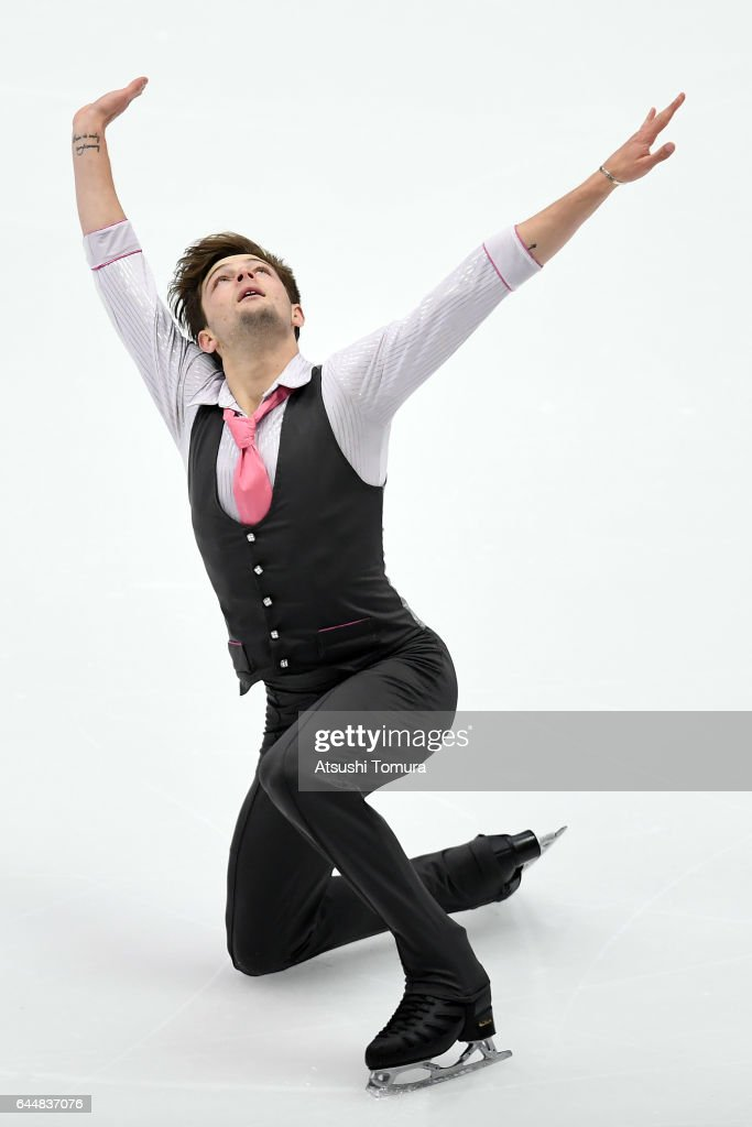 Brendan Kerry of Australia competes in the figure skating men short program on the day seven of the 2017 Sapporo Asian Winter Games at Makomanai indoor skating rink on February 24, 2017 in Sapporo, Japan.