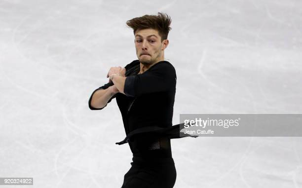 Brendan Kerry of Australia during the Figure Skating Men Free Program on day eight of the PyeongChang 2018 Winter Olympic Games at Gangneung Ice...