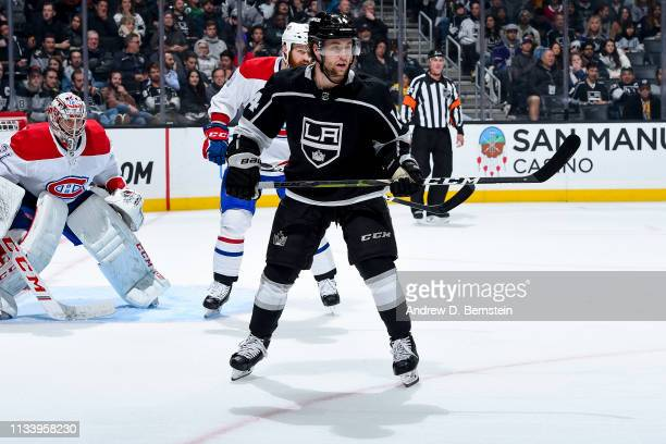 Brendan Leipsic of the Los Angeles Kings skates against the Montreal Canadiens during the third period of the game at STAPLES Center on March 5 2019...