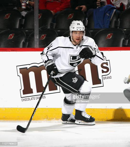 Brendan Leipsic of the Los Angeles Kings skates against the New Jersey Devils at the Prudential Center on February 05 2019 in Newark New Jersey The...