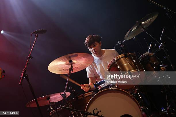 Brendan McInerney of Bleeding Pigeons performs at The Marquee on July 13 2016 in Cork Ireland