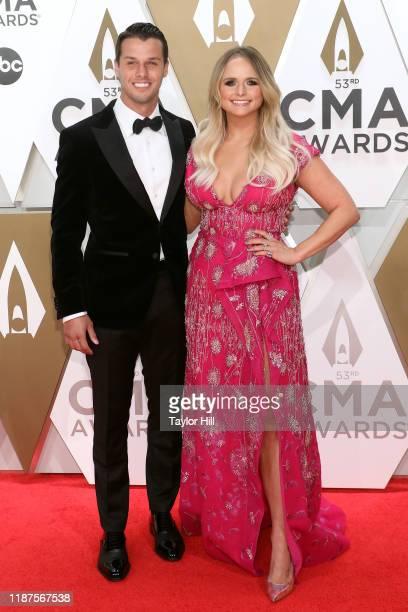 Brendan McLoughlin and Miranda Lambert attend the 53nd annual CMA Awards at Bridgestone Arena on November 13, 2019 in Nashville, Tennessee.