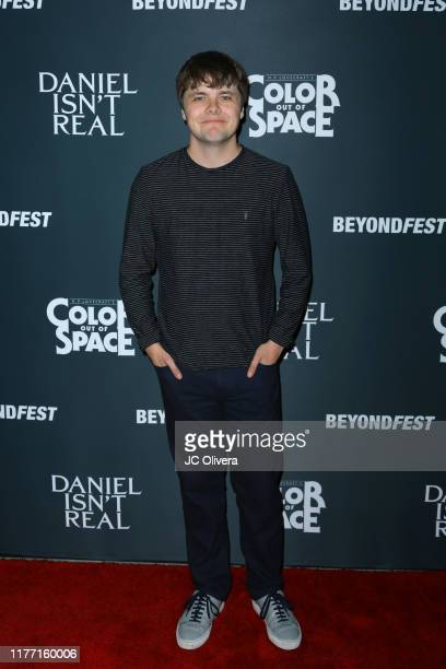 Brendan Meyer attends the 2019 Beyond Fest opening night premieres of 'Color Out Of Space' and 'Daniel Isn't Real' at the Egyptian Theatre on...