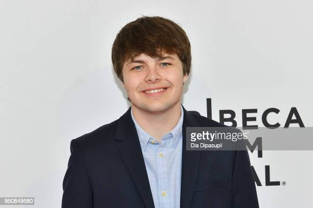 Brendan Meyer attends the screening of All These Small Moments during the 2018 Tribeca Film Festival at SVA Theatre on April 24 2018 in New York City