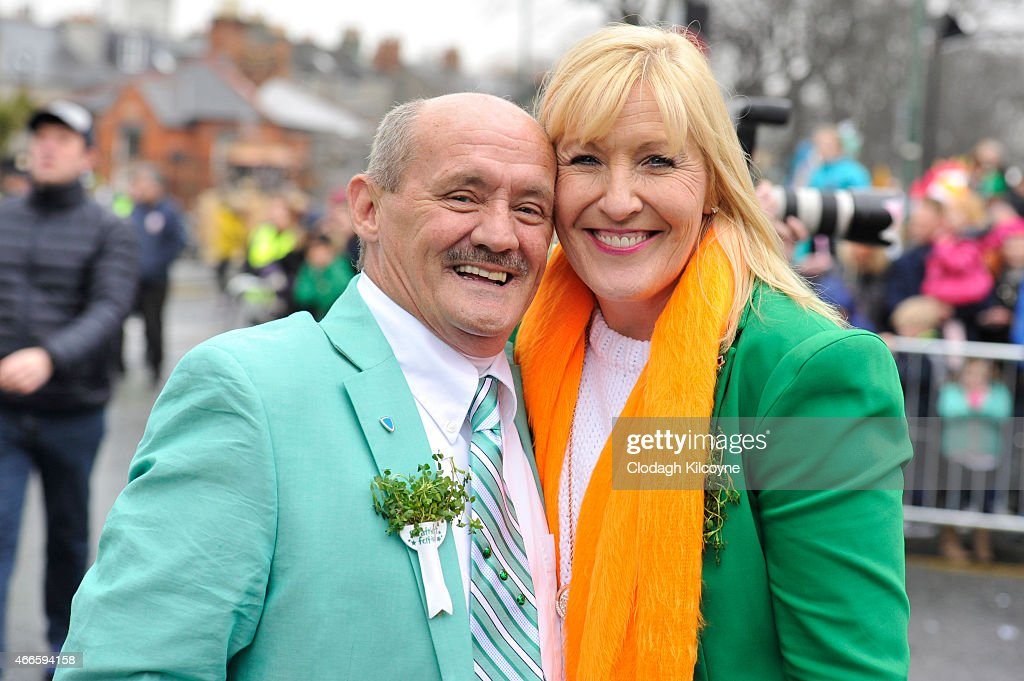 St Patrick's Day Parade : News Photo