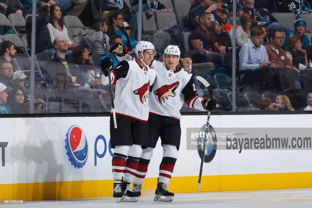 Arizona Coyotes v San Jose Sharks : News Photo