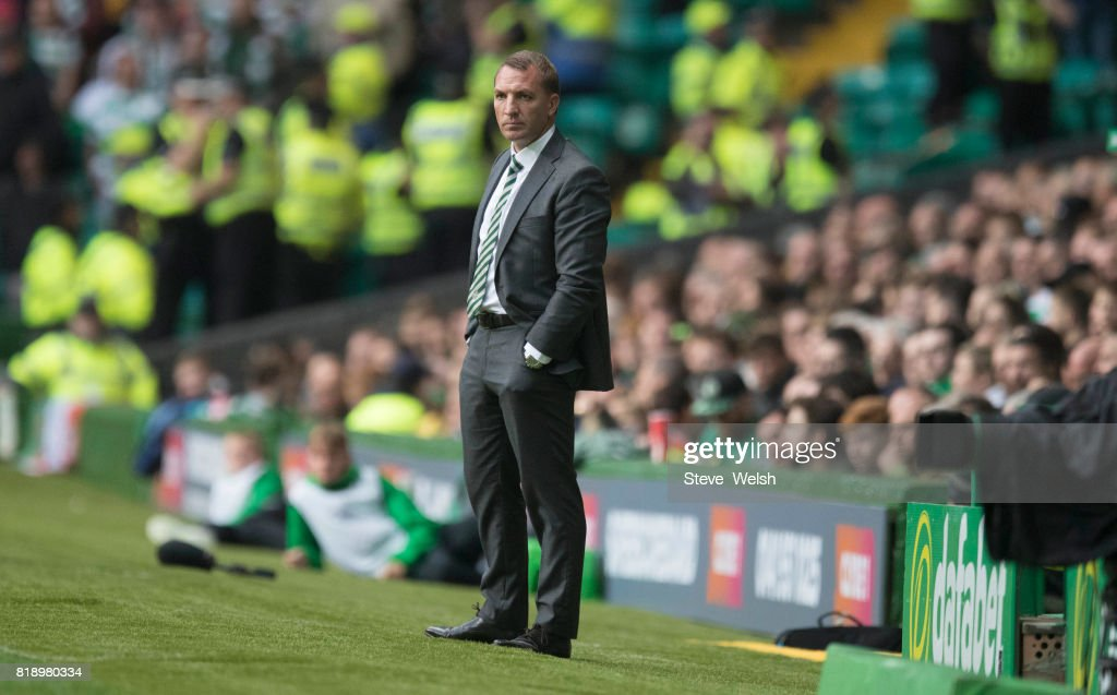 Celtic v Linfield - UEFA Champions League Qualifying Second Round: Second Leg : News Photo