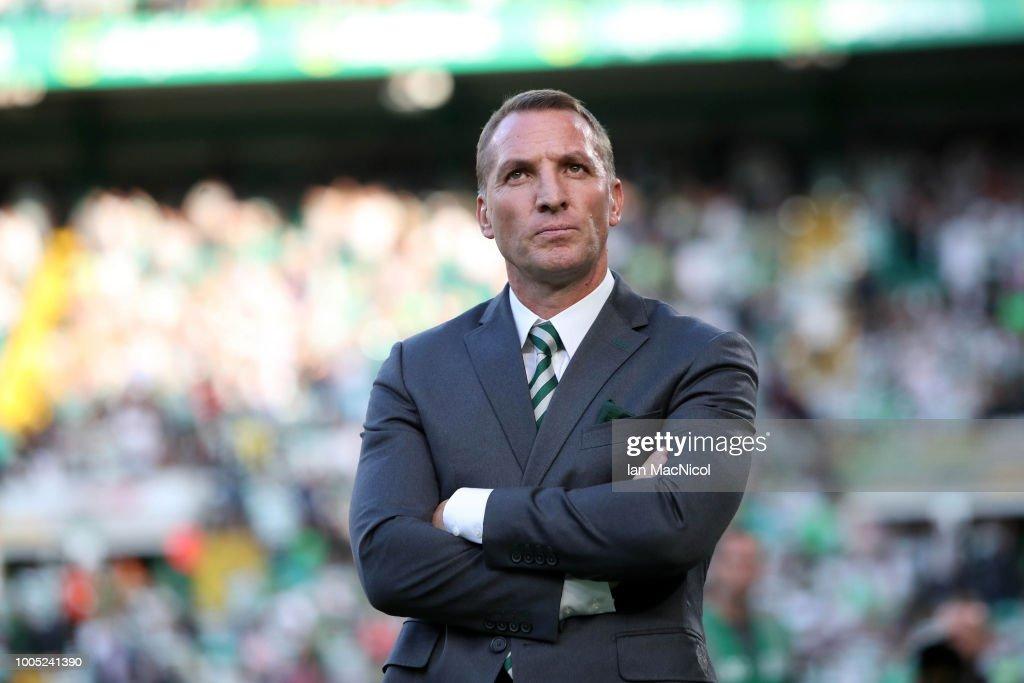 Celtic v Rosenborg - UEFA Champions League Qualifier : News Photo
