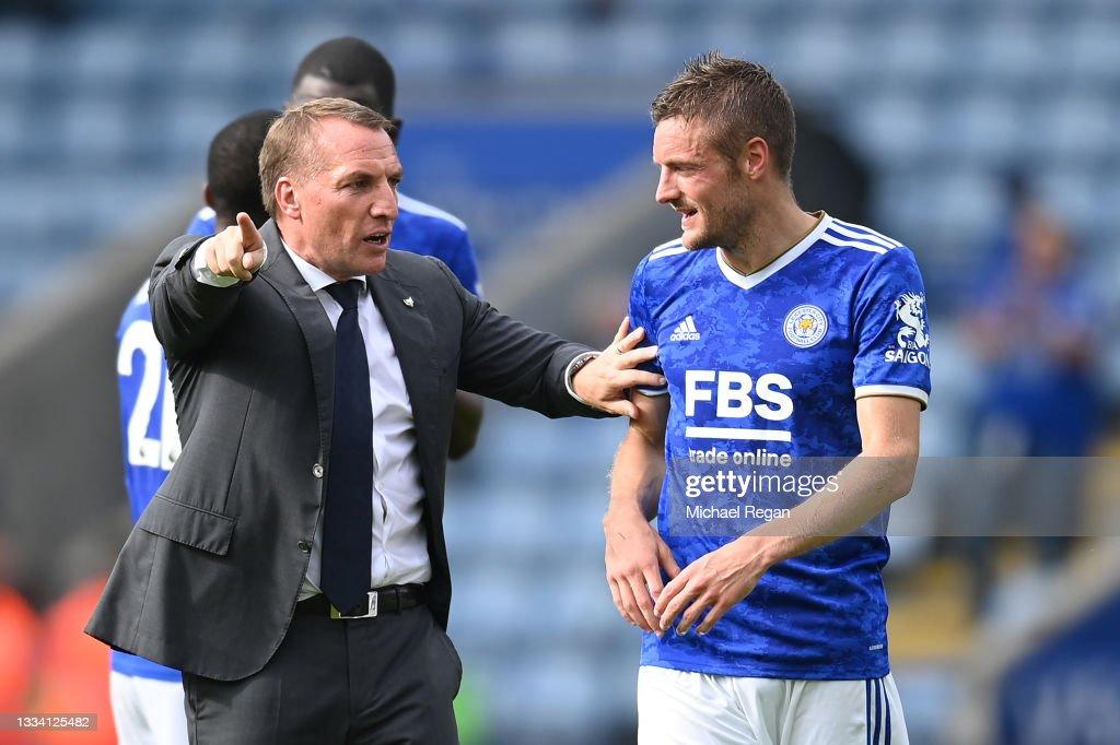 Leicester City v Wolverhampton Wanderers - Premier League : Photo d'actualité