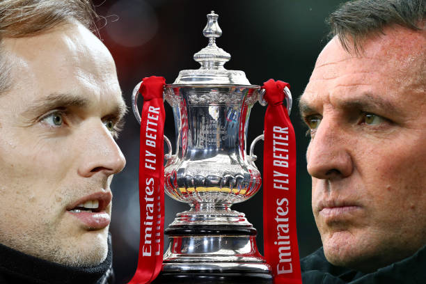 GBR: Chelsea v Leicester City: The Emirates FA Cup Final