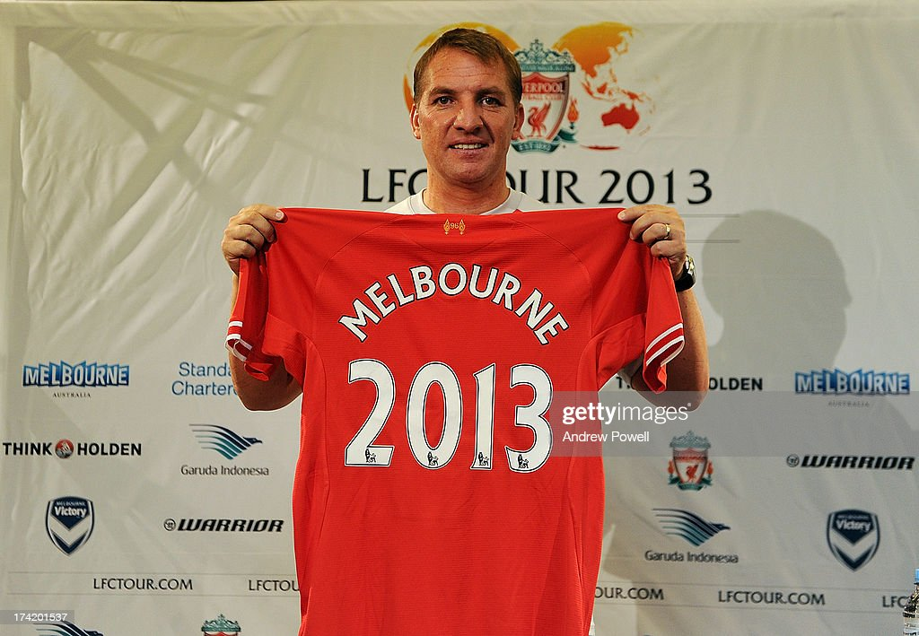 Brendan Rodgers manager of Liverpool during a Press Conference at the Grand Hyatt hotel on July 22, 2013 in Melbourne, Australia.