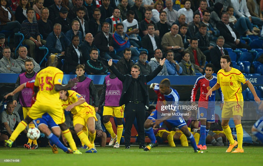 FC Basel 1893 v Liverpool FC - UEFA Champions League : News Photo
