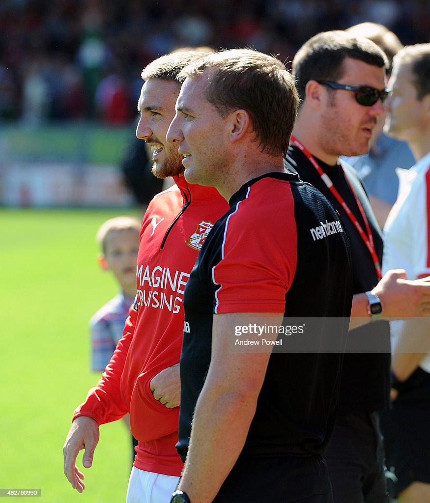 Swindon Town FC v Liverpool FC - Preseason Friendly