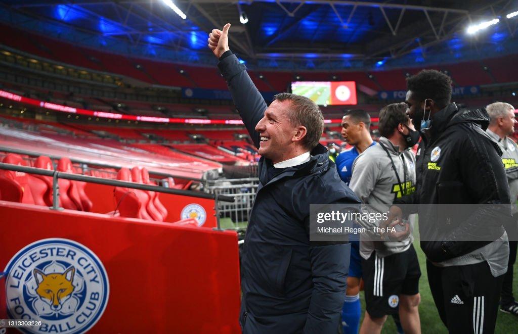 Leicester City v Southampton FC: Emirates FA Cup Semi Final : News Photo