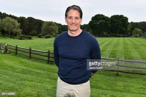 Brendan Shanahan attends the Alzheimer's Association Hosts Rita Hayworth Gala Hamptons Kickoff Event at a Private Residence on July 28 2017 in Water...