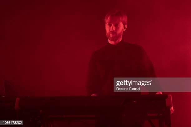 Brendan Smith of The Twilight Sad performs on stage at The Liquid Room on November 29 2018 in Edinburgh Scotland