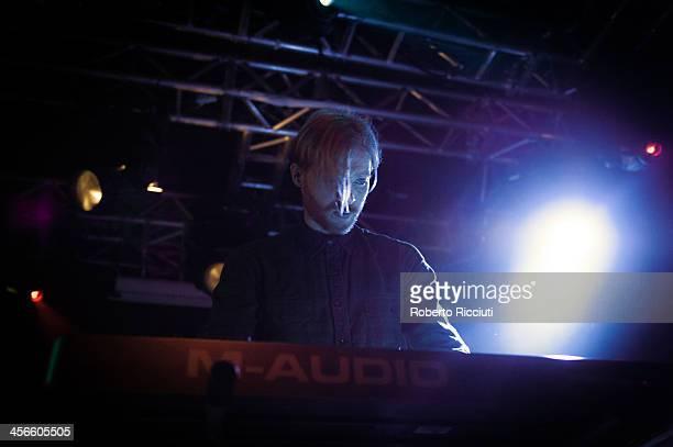 Brendan Smith of The Twilight Sad performs on stage at The Liquid Room on December 14, 2013 in Edinburgh, United Kingdom.