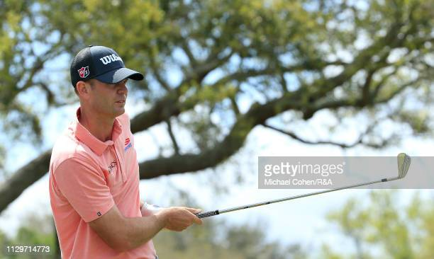 Brendan Steele of the United States hits his tee shot on the seventh hole during The Open Qualifying Series part of the Arnold Palmer Invitational at...