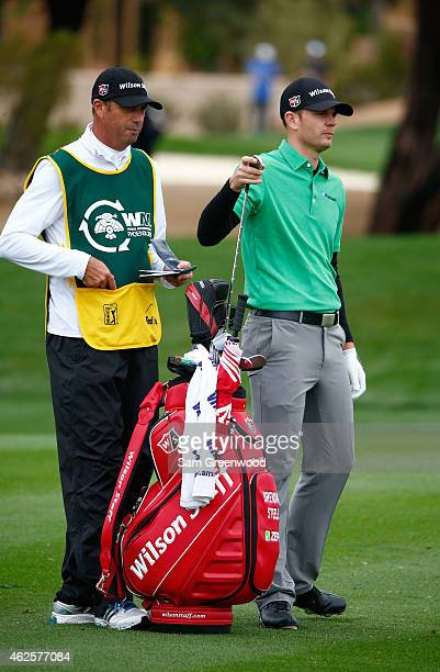 Brendan Steele plays the 2nd hole during the third round of the Waste Management Phoenix Open at TPC Scottsdale on January 31 2015 in Scottsdale...