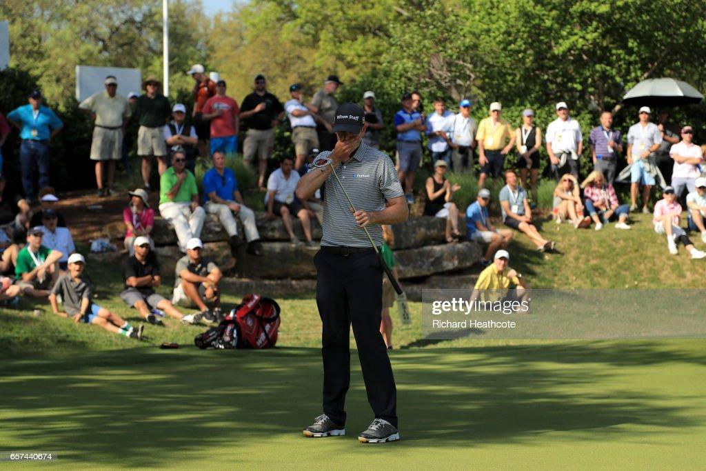 World Golf Championships-Dell Match Play - Round Three