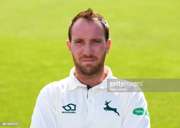 Brendan Taylor of Nottinghamshire CCC poses for a portrait during the Nottinghamshire CCC Photocall at Trent Bridge on March 31 2017 in Nottingham...