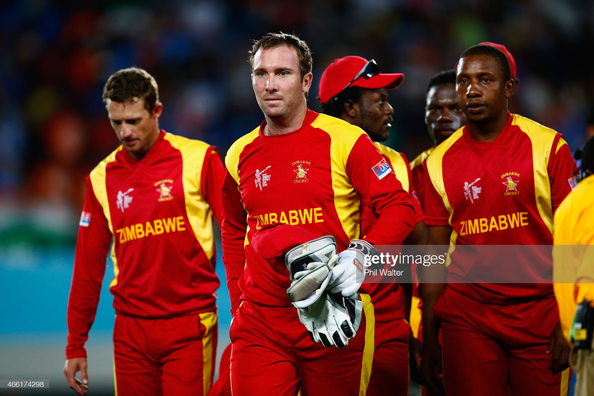India v Zimbabwe - 2015 ICC Cricket World Cup : News Photo