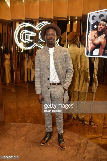 Brenden Hall attends the GQ March Cover Party at The Standard Highline on March 01 2020 in New York City
