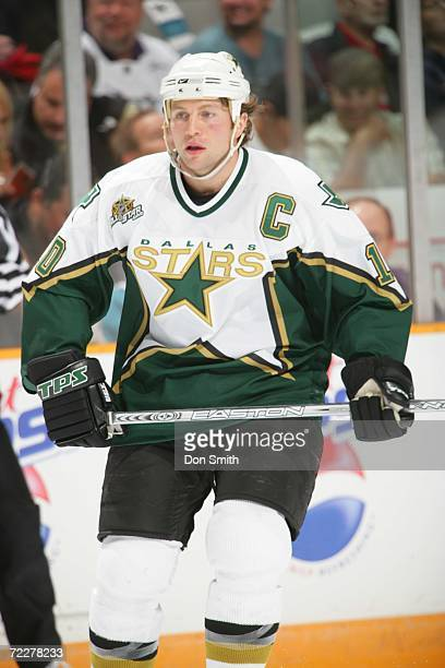 Brenden Morrow of the Dallas Stars skates during a game against the San Jose Sharks on October 17 2006 at the HP Pavilion in San Jose California The...