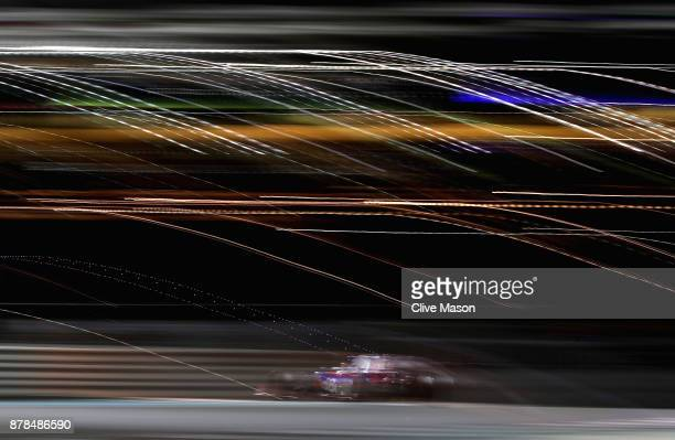 Brendon Hartley of New Zealand driving the Scuderia Toro Rosso STR12 on track during practice for the Abu Dhabi Formula One Grand Prix at Yas Marina...